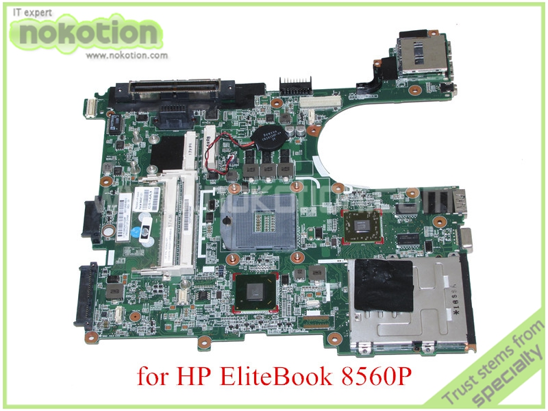 NOKOTION 653642-001 AS020112R00-600-G For hp elitebook 8560P motherboard QM67 ATI graphics card DDR3 685518 001 684319 001 main board for hp elitebook 8560w laptop motherboard qm67 ddr3 with graphics slot