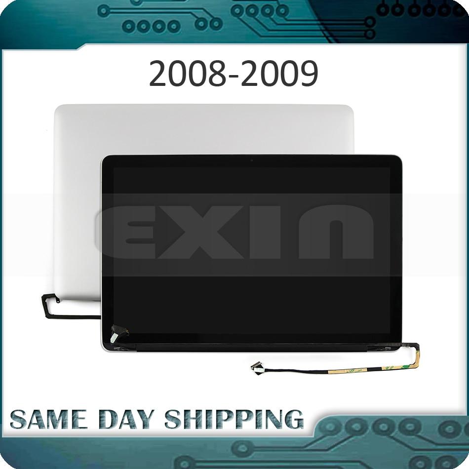 Nuevo 661-4837 661-5091 para Macbook Pro 15 A1286 brillante Full pantalla LCD Pantalla Completa A finales de 2008 principios de 2009 mediados de 2009