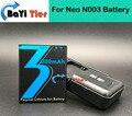 100% Nuevo Para Neo N003 Batería + Base de Escritorio Cargador de Pared 3000 mAh de Litio-ion para Neo N003 + número de seguimiento
