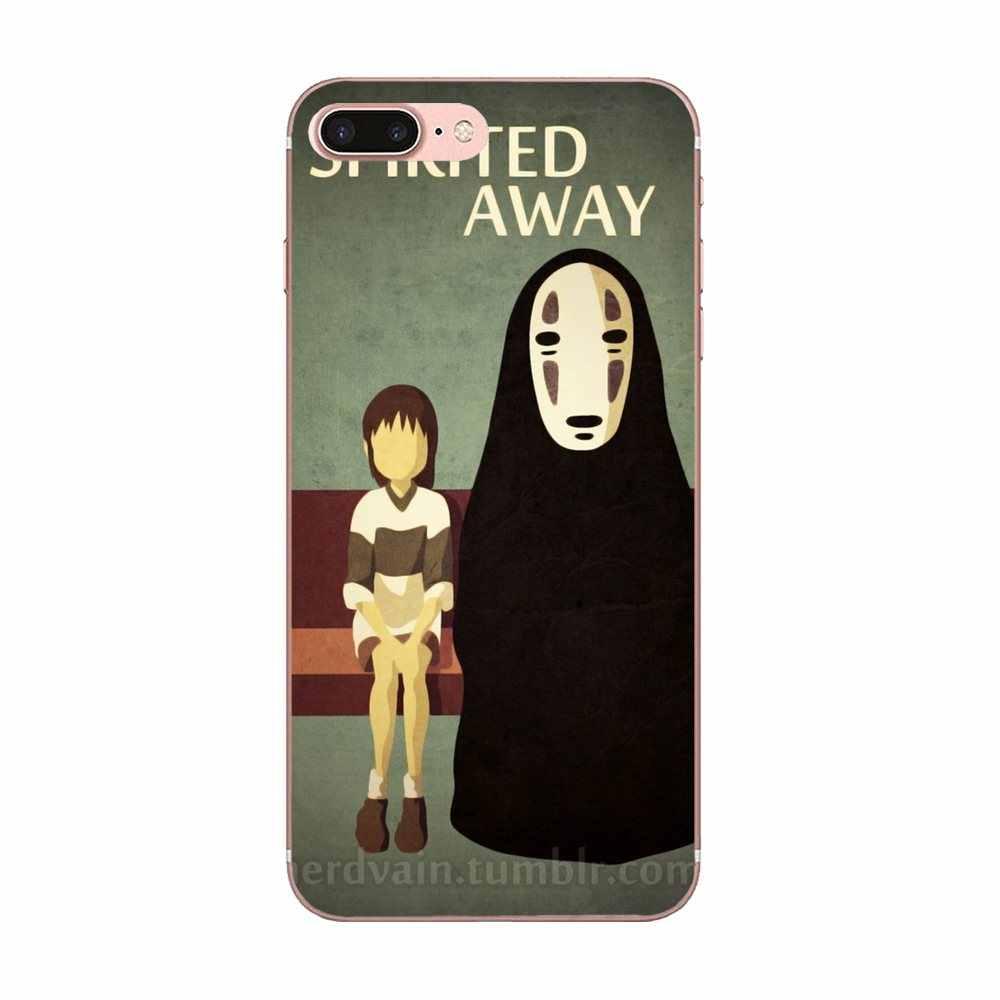 Japanese Anime Spirited Away TPU Phone Coque For HTC 530 626 628 630 816 820 One A9 M7 M8 M9 M10 E9 U11 Moto G G2 G3 G4 G5 G6 G7
