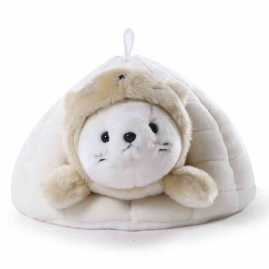 Cute Seal Plush Ocean Toys Doll Animal Stuffed Kawaii Kids Toy Mini Pelucias Birthday Gift Baby Knuffel Toys For Children 50G433 4 colors pusheen plush cute soft animal toy giraffe plush doll birthday gift toys for children 18cm baby dolls free shipping