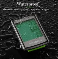 ROCKBROS Waterproof Bicycle Bike Computer Speedometer Odometer Computer LCD Backlight Stopwatch Wireless Cycling MTB Accessories