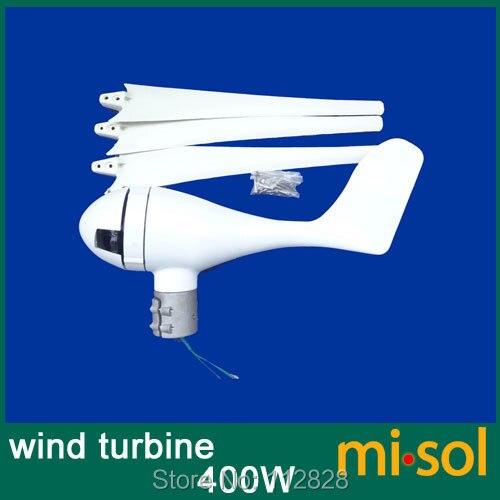 400 w vento gerador de turbina eolica 12 v kit