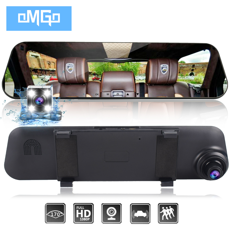 auto vehicle dvrs cars dvr dual lens car camera rearview mirror recorder video registrator full hd1080p dash cam camcorder car dvr camera auto video full hd 1080p camera dvrs dash cam blackbox dvr for bmw car low spec mini 3 series e46 year 2004 06