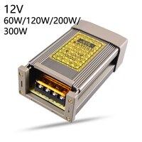 DC 12V LED Power Supply Source Transformer Strip Light Adapter Switch Converter 15W 25W 60W 100W 120W 200W 300W 400W Waterproof