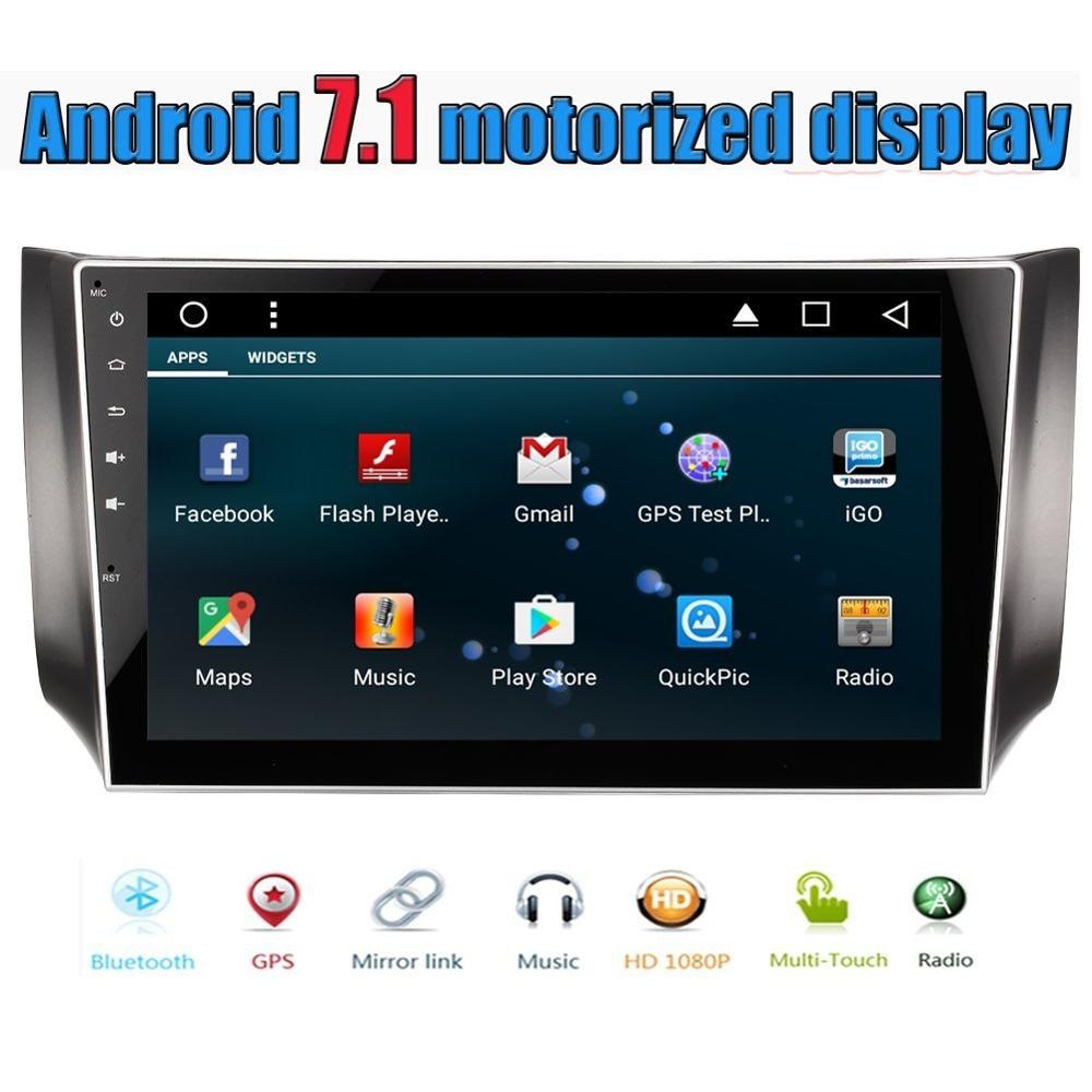 eincar android 7 1 autoradio gps radio stereo headunit for. Black Bedroom Furniture Sets. Home Design Ideas