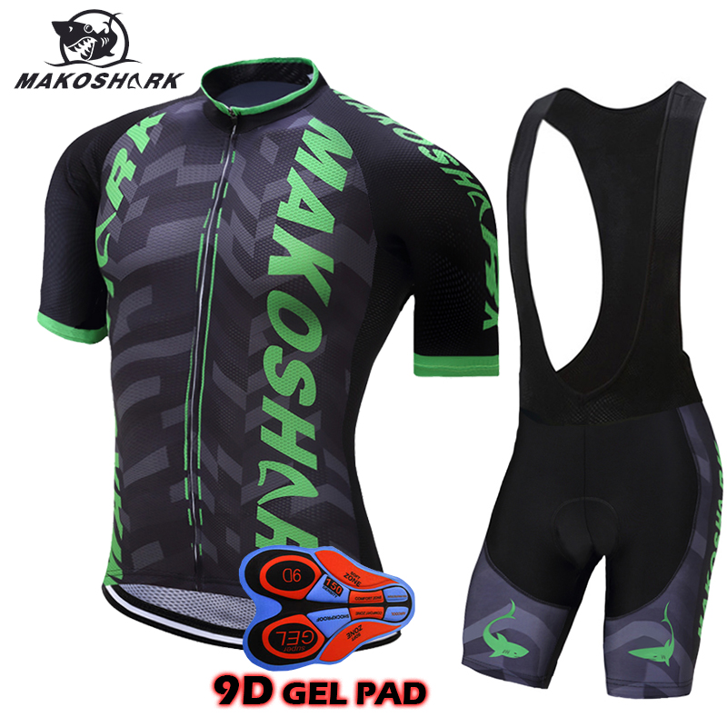 9D Gel Pad Pro Cycling Jersey Set Short Sleeve Jersey Suit Ropa De Ciclismo Maillot Mountain Bike Wear Cycling Clothing