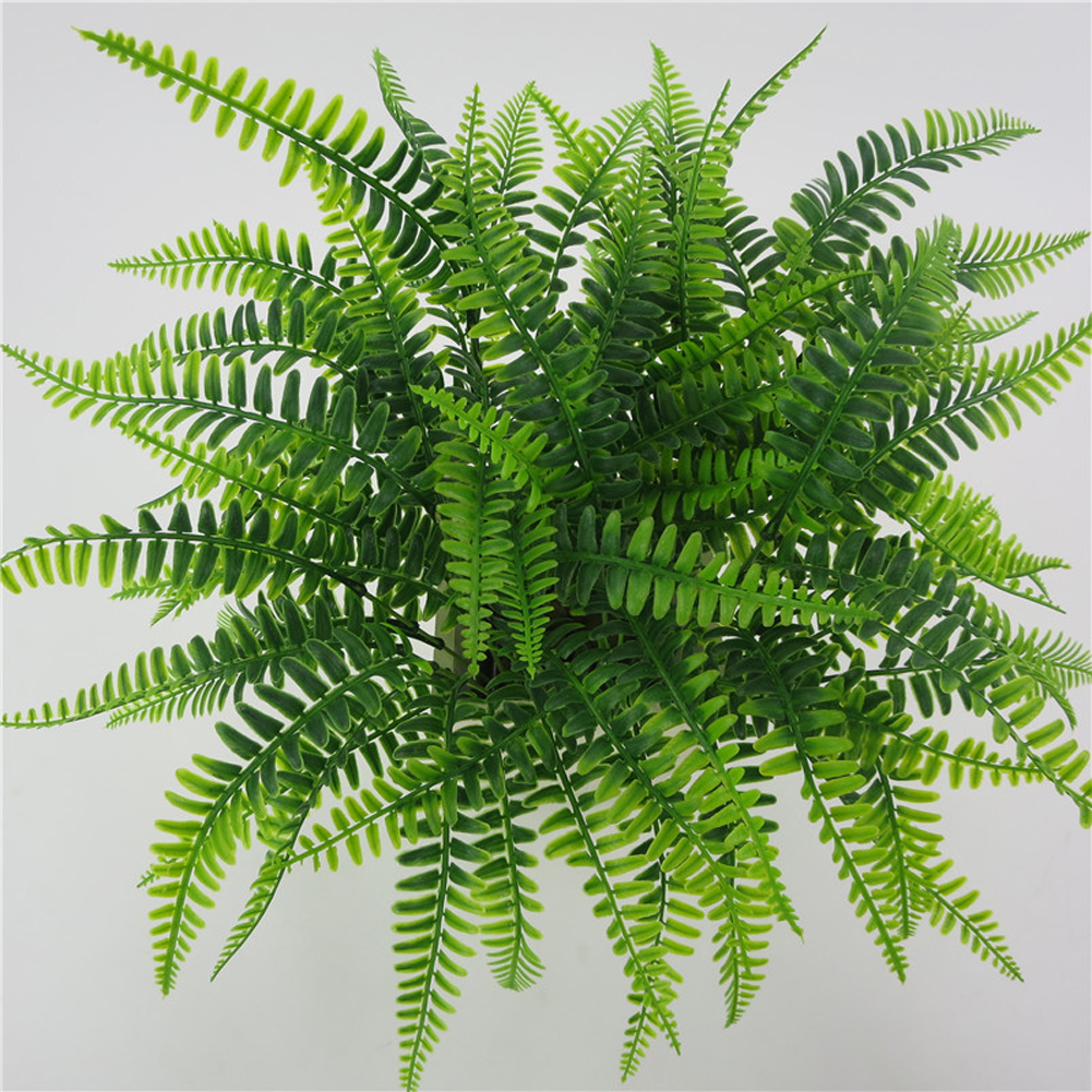 42cm 7Fork Artificial Persian Leaf Plant Pretty Fake Lifelike Plastic Wedding Background Decoration Lysimachia Fern Floral Decor