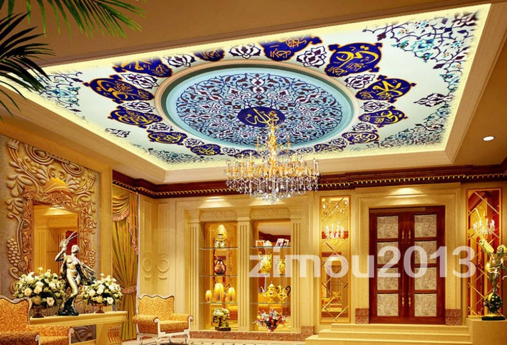 custom 3d ceiling murals wallpaper Classical pattern 3d ceiling photo wallpapers for living room 3d stereoscopic ceiling custom photo wallpaper 3d stereoscopic sky ceiling cloud wallpapers for living room mural 3d wallpaper ceiling