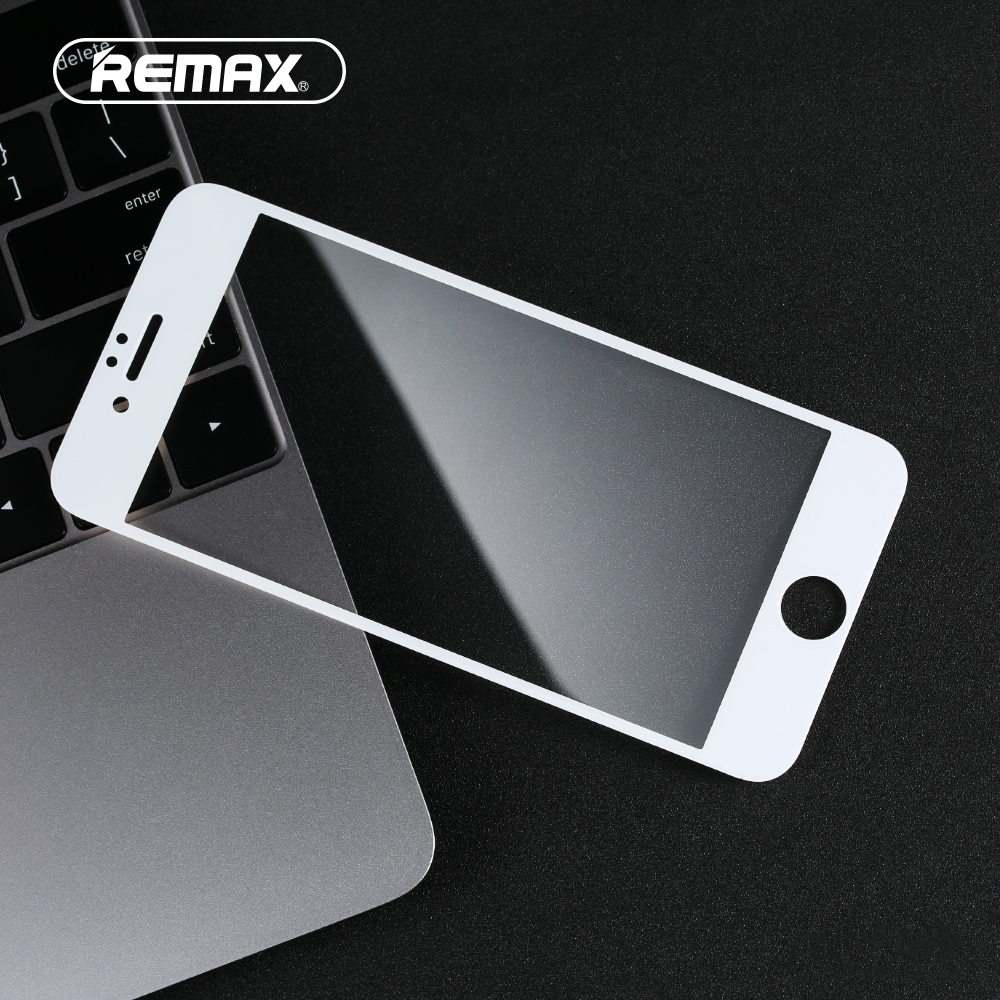 Remax For IPhone 6 6s 7 7 Plus 0.3mm Screen Protector 9HD Hardness Anti-fingerprint Anti-water Tempered Glass Screen Protector
