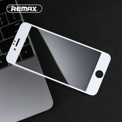 Remax para iPhone 6 6 s 7 9HD 7 Plus 0.3 milímetros Protetor de tela Dureza Anti-impressão digital Anti- água de Vidro Temperado protetor de Tela