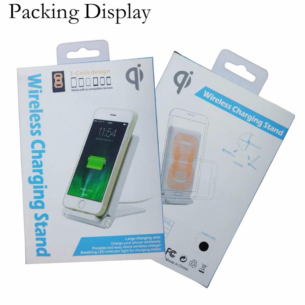 Samsung S10 + S9 S8 Plus S7 S6 Kənar Qeyd 5 8 Üçün Üç Qapaq Qi - Cib telefonu aksesuarları və hissələri - Fotoqrafiya 6