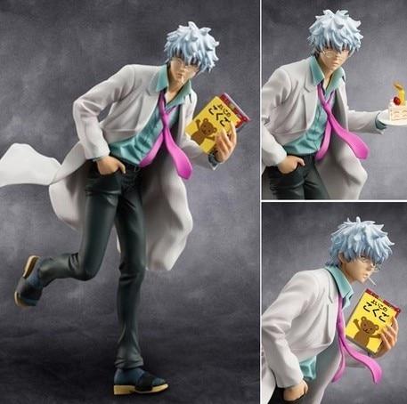 Gintama Figure 22cm Sakata Gintoki Action Figure Colletion Model Toys & Hobbies hot new gintama model sakata gintoki western toys free shopping