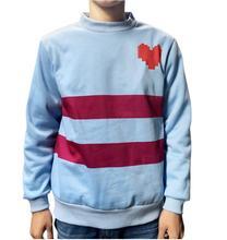 New Recreation Undertale Frisk Coat Cosplay Costume Heat shirt prime Sweatshirt hoody jacket