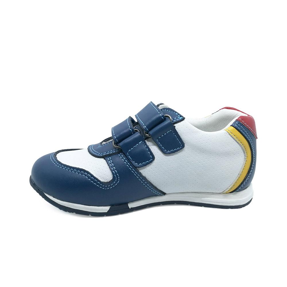 4b4b9327496e3 Anti sdrucciolevole e solido ortopedico scarpe sportive per i ragazzi della scarpa  da tennis per bambini del cuoio genuino scarpe casual per bambini scarpe ...