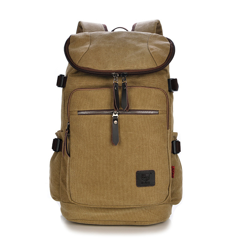 2017 New Large capacity man travel bag high quality backpack men bags canvas bucket shoulder bag Free Shipping