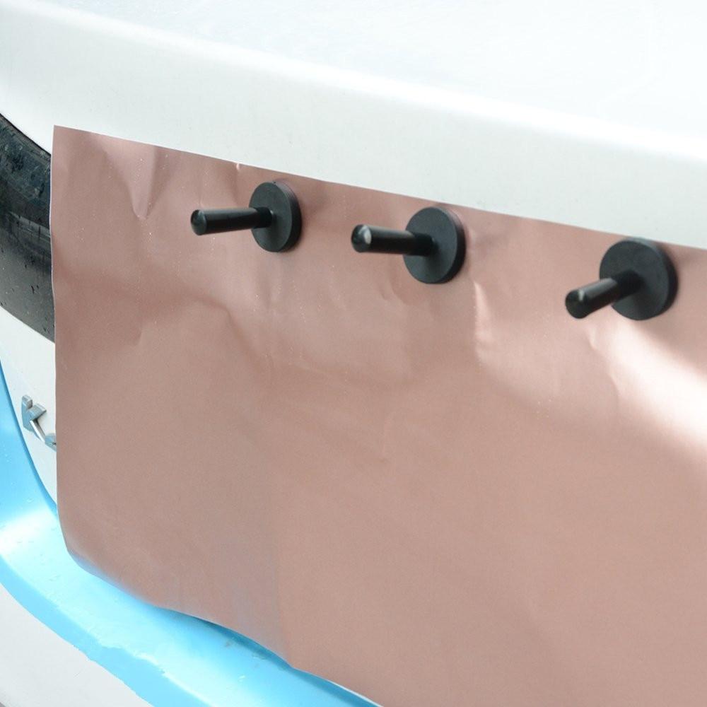 10pcs Car Film Wrap Vinyl Tools Kit Scratch Squeegee Razor Cutter 4 Magnets