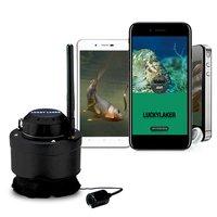 Chanceux Portable Wifi Caméra D'inspection de la Pêche Caméra Sous-Marine Fish Finder Fit pour Android pour iOS Mobile Téléphones FF3309