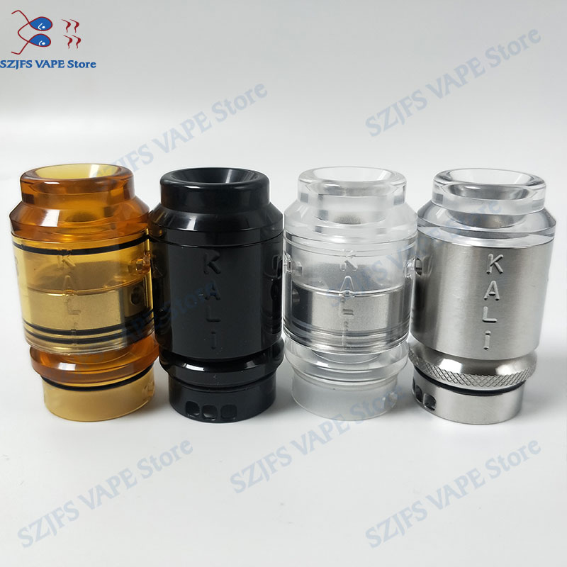 <font><b>QP</b></font> <font><b>KALI</b></font> <font><b>RDA</b></font> Fatality <font><b>RDA</b></font> Atomizer Drip Oil DIY 316 stainless steel and PC pei 25mm vape vaporizer vs Apocalypse GEN 25 <font><b>RDA</b></font> image