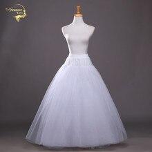 4 couches de jupon en Tulle dur sous Jupe Slip accessoires de mariage Chemise sans cerceau pour robe de mariée Jupe Crinoline Slip