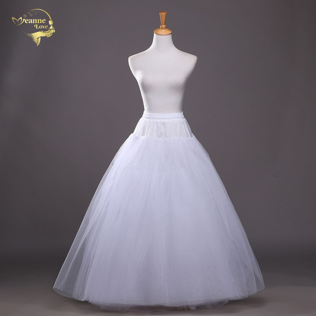 4 schichten von Fest Tüll Petticoat Unterrock Schlupf Hochzeit Zubehör Chemise Ohne Hoop Für Hochzeit Kleid Krinoline Jupe Slip