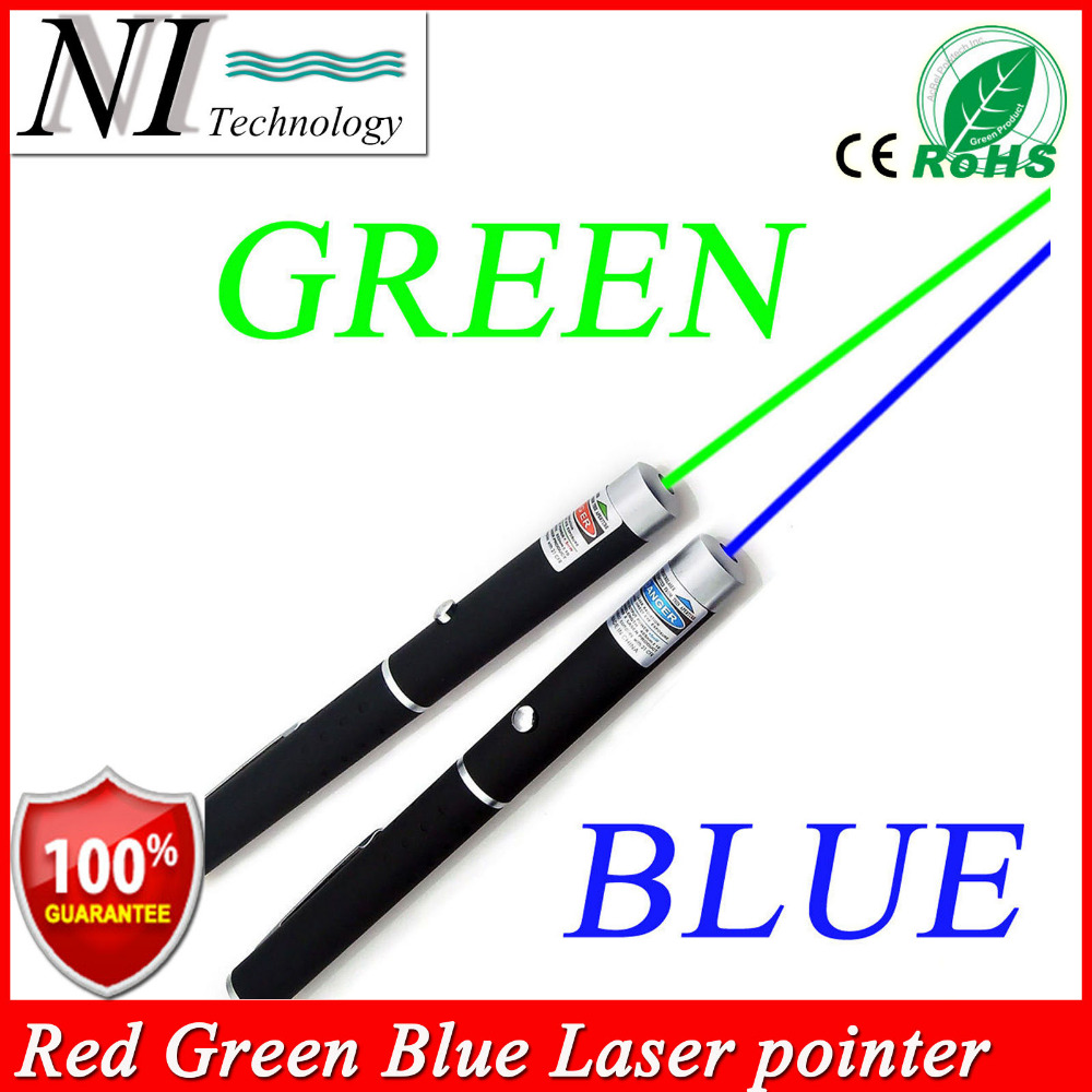 Top Powerful 5MW Blue Voilet Green Lazer Ray Laser Pointer Pen Canetas Laser Beam Light High Power ...