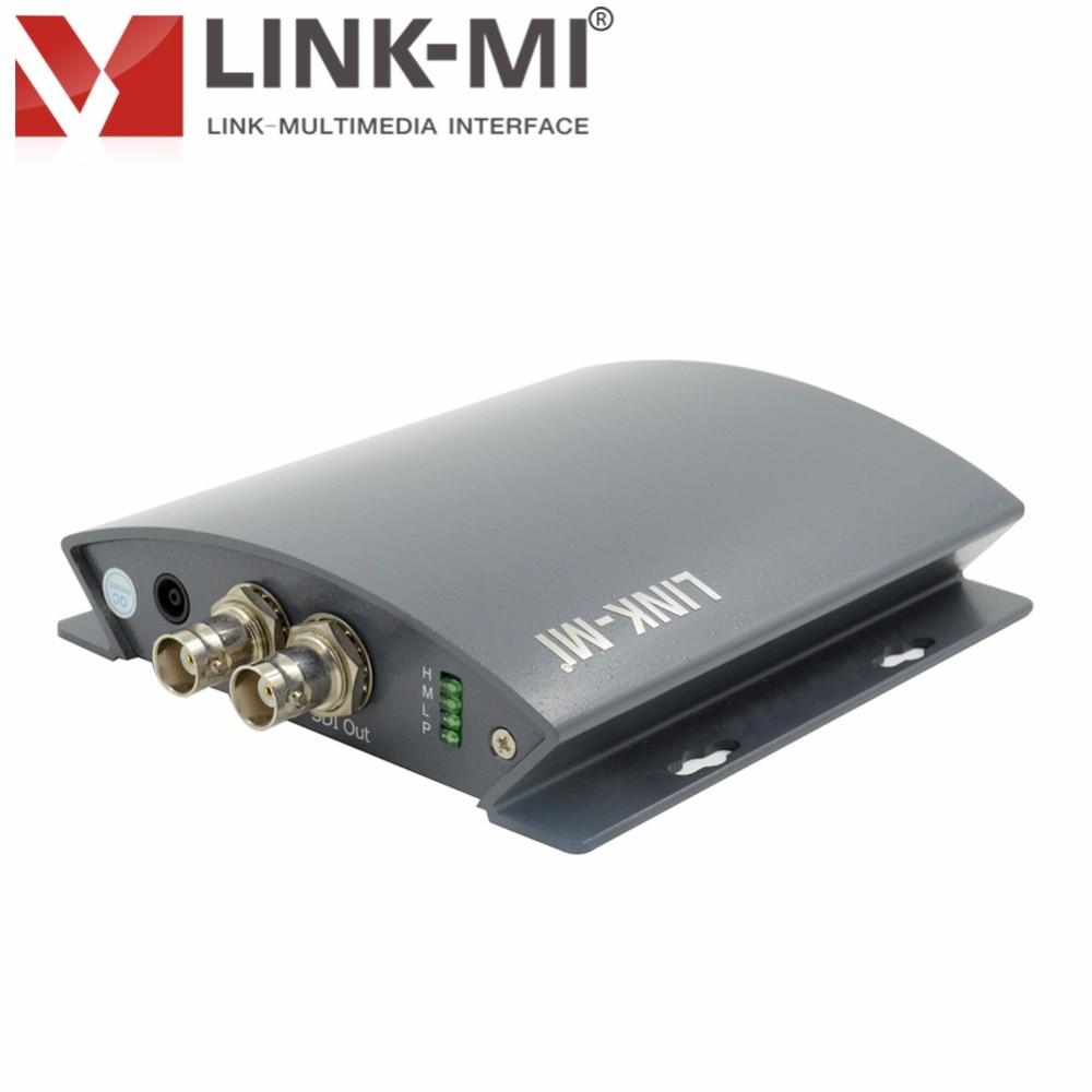 LINK-MI LM-PHS01 HDMI zu BNC HD SDI Konverter zu 1080p Mit analoger - Heim-Audio und Video