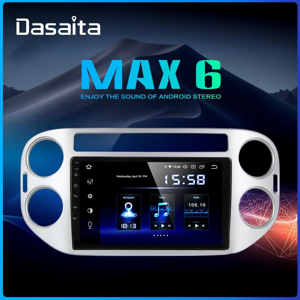 Dasaita 9 IPS 1 din Radio Car Android 9 0 for Volkswagen VW Tiguan 2010 2011