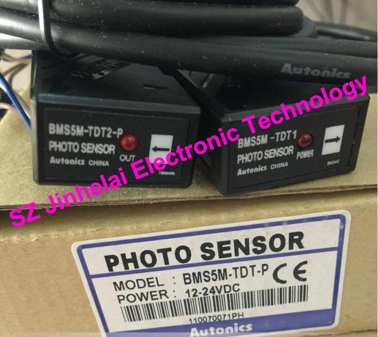 100% New and original  BMS5M-TDT-P   AUTONICS  PHOTOELECTRIC SWITCH    12-24VDC