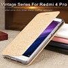 Xiaomi Redmi4 Prime Case Silicone Ultra Thin Metal Flip Leather Cover Mofi Original Xiomi Redmi 4