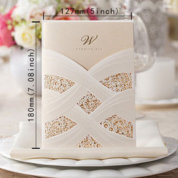 100pcs hot fashion laser cut white hollow flora wedding invitation cards printable customizable cw060.jpg 250x250