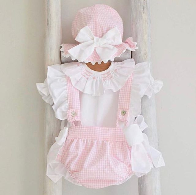 2pcs/set Infant Newborn Baby Girls Clothes Set White T Shirt + Bow Ruffles Rompers Overalls Outfits Baby Girl Costumes 2019 New