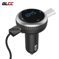 USB Car Charger For Phone Wireless Handsfree Bluetooth Adaptador Car Kit Voltage Monitoring MP3 Music Car