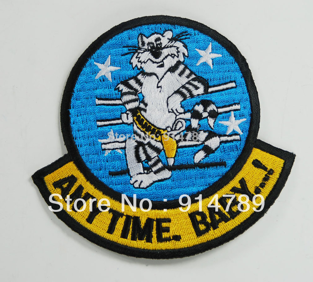 US TOMCAT ANY TIME BABY 4 STAR MILITARY PATCH-32829