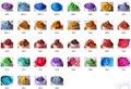 36 cores (5 gramas cada) saudável e Natural de Minerais Mica Em Pó para DIY Corante Corante Sabão maquiagem Cuidados Com A Pele Sabão Em Pó do pigmento da pérola