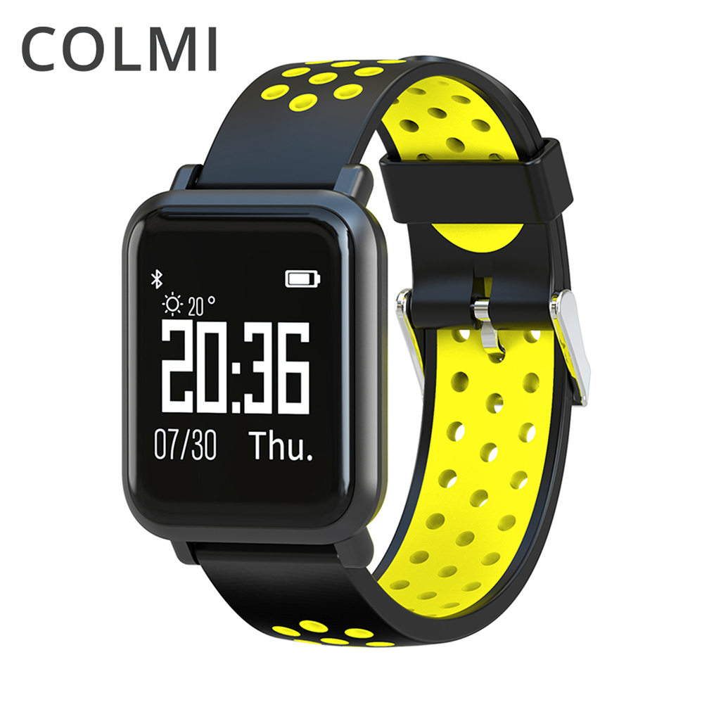 COLMI Smartwatch SN60 OLED Screen Gorilla Glass Blood oxygen Blood pressure BRIM IP68 Waterproof Activity Tracker Smart Watch