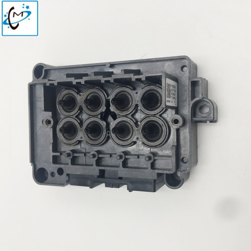 Free shipping !!Eco solvent printer Wit-color Xuli Titanjet DX7 printhead cover F189010 F196000 manifold DX7 head cover adapter permanent roland xj 640 xj 740 eco solvent chips 6pcs set cmyklclm printer parts