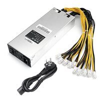 New 1800W Special Power Supply Fits For S7 For S9 For L3 D3 APW3 Mining Machine