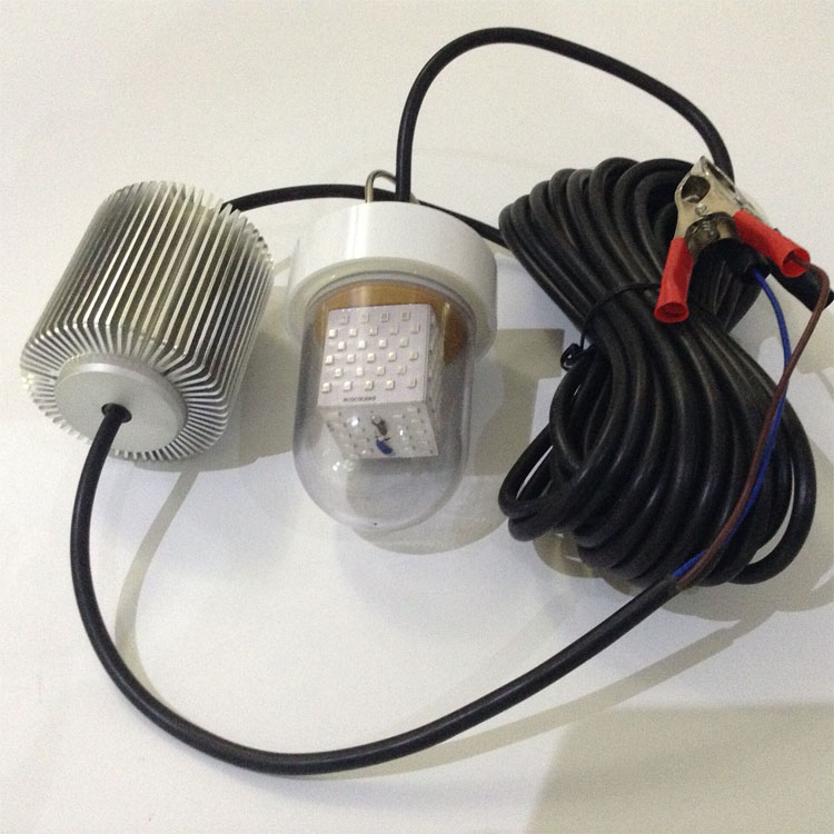 ФОТО 6M Cable 120+360 Degree View Angle IP68 Underwater 60W 90W Solar LED Fishing Bait Lights