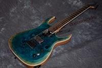 China firehawk OEM electric guitar ASH body Personality customization guitar