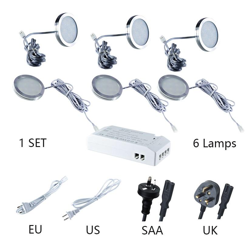 1 set 6 lamps