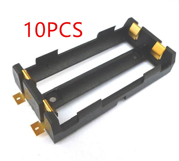 10 Pcs / Lot 2X18650 Battery Box High Quality SMD Battery Holder With Bronze Pins TBH 18650 2C SMT|battery holder|battery boxbattery box holder - AliExpress
