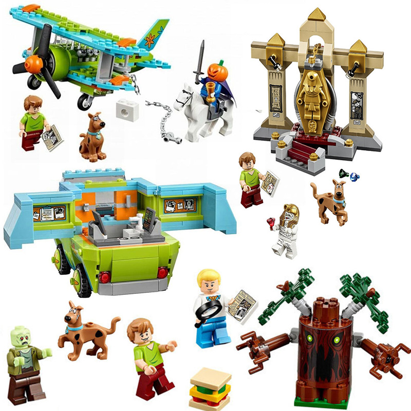 10430&10429 Legoing Scooby Doo Mystery Machine Bus Building Blocks Toys 10430 Compatible legoings Birthday Children Gifts10430&10429 Legoing Scooby Doo Mystery Machine Bus Building Blocks Toys 10430 Compatible legoings Birthday Children Gifts