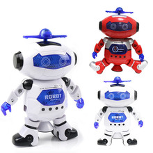 Space Dancing Electric Robot Kid Toys For Boys And Girls 360 Degree Rotating Wind Hyun Dancer Children Toys