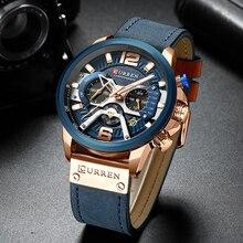 New CURREN Top Brand Men Casual Wristwatch Mens Sport Waterproof Quartz