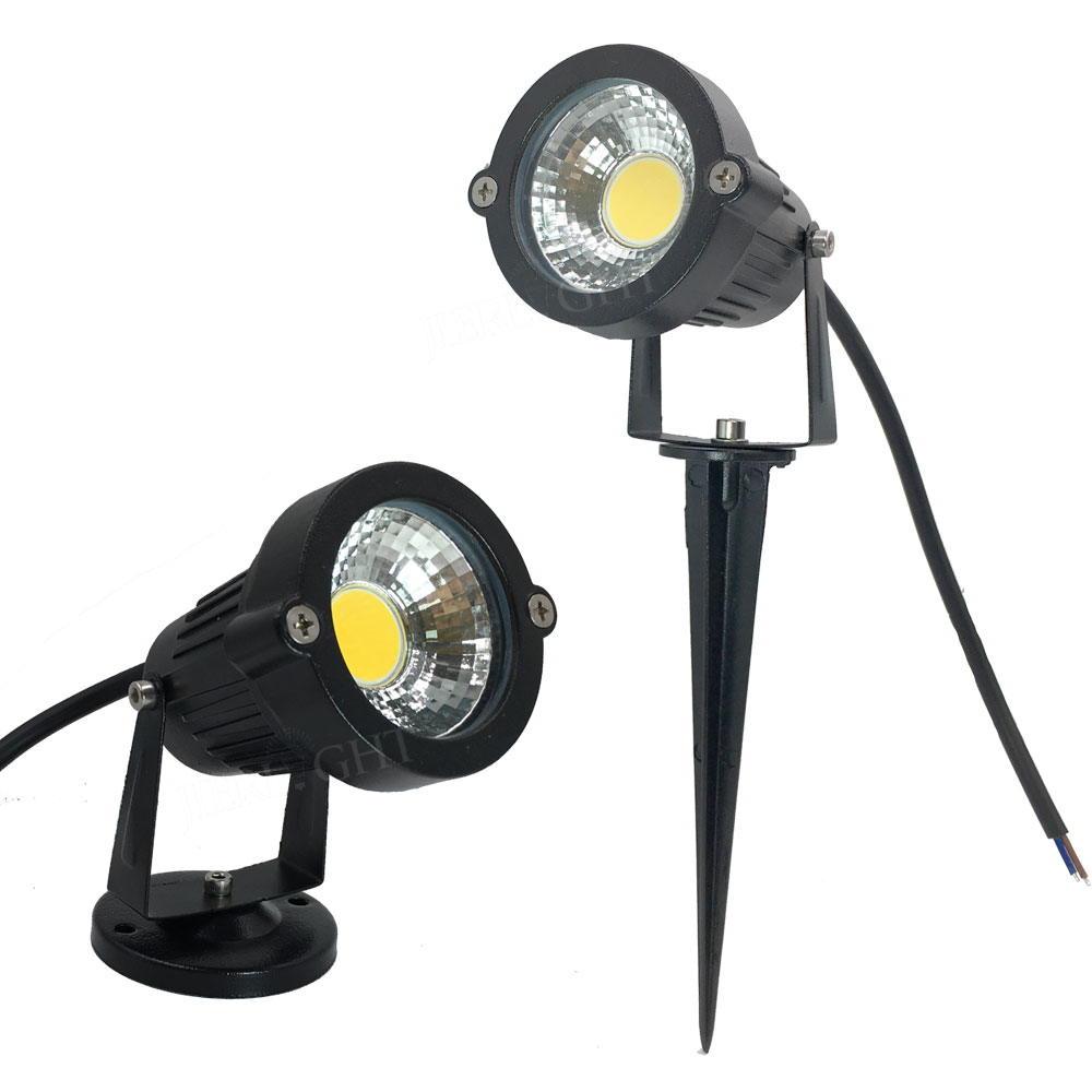 12 Volt Lighting 10x Lights 3w 5w 7w 9w Outdoor Landscape 12v Light Spike Led For Garden Decorating In Lawn Lamps From