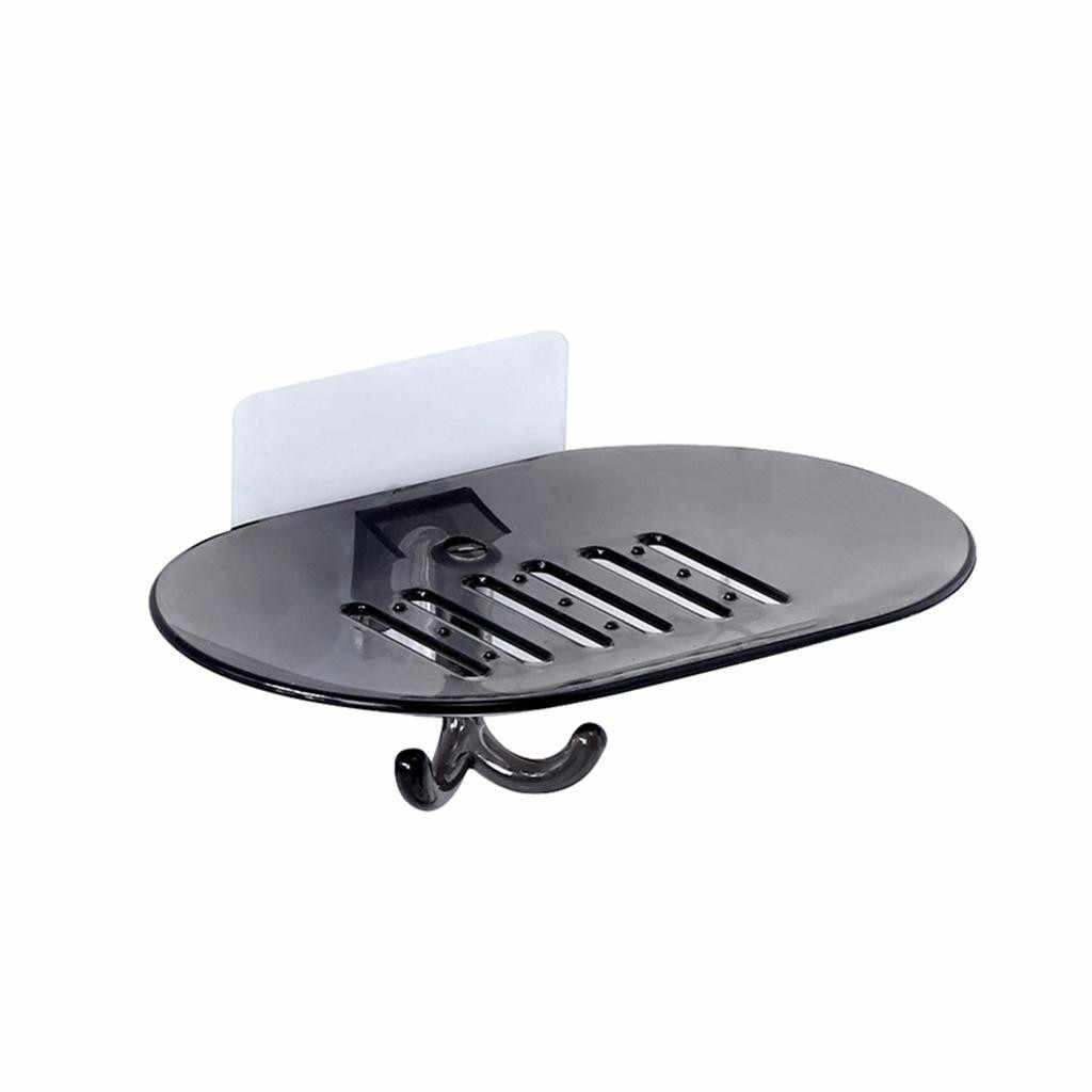 Łazienka prysznic mydelniczka pojemnik na naczynia do przechowywania płyta tacka stojak przezroczysty futerał mydelniczka pojemników na sprzątanie organizator # jink