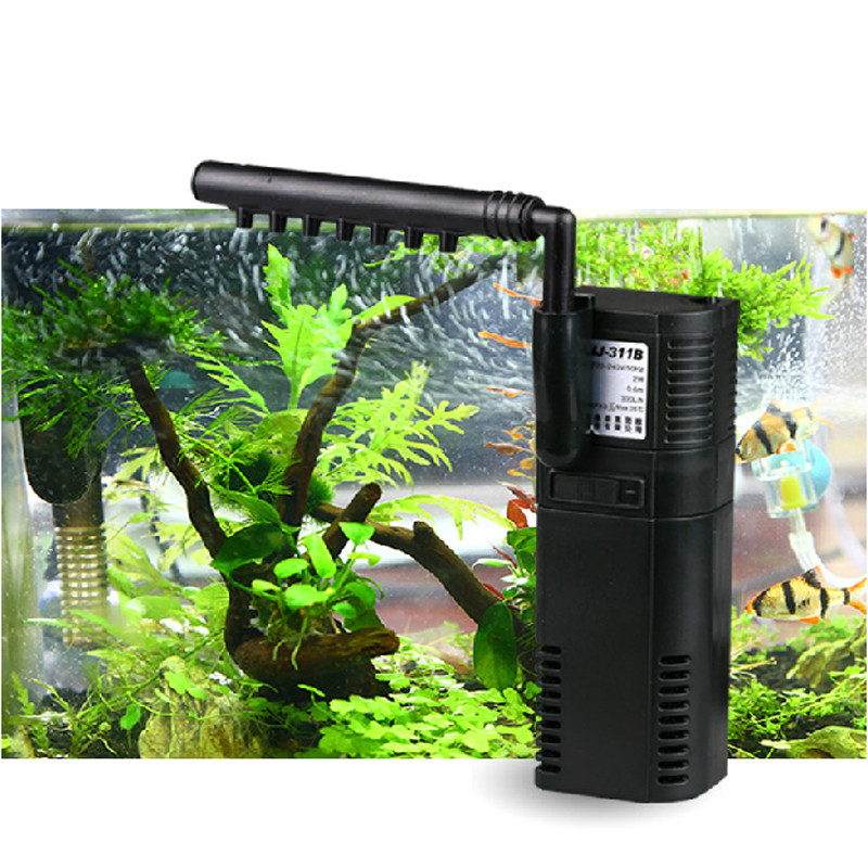 SUNSUN mini nano building internal filter submersible oxygen pump fish turtle aquarium water plant tank