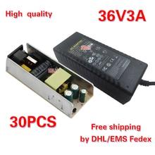 Frete grátis AC110V/220 V para DC36V 3A adaptador de alimentação fonte de alimentação DC36V equipamentos 30 pcs por DHL