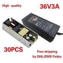 무료 배송 ac110v/220 v dc36v 3a 전원 어댑터 dc36v 전원 공급 장치 30 pcs dhl에 의해